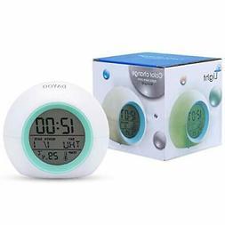 Kids Alarm Clock, DAYOO LED Digital Clock for Boys Girls, 7