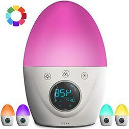 FiveHome Kids Alarm Clock, Wake Up Light Alarm Clock, Color
