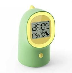 HAPTIME Kids Alarm Clock with Night Light Date Snooze and We