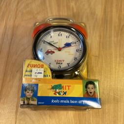 Timex Kids Easy to Read Bell Alarm Clock - With Night Light