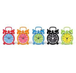 Kikkerland Mini Bell Alarm Clock Key Ring your choice of 6 c