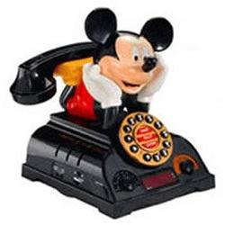 TeleMania 025578 Mickey Talking Alarm Clock