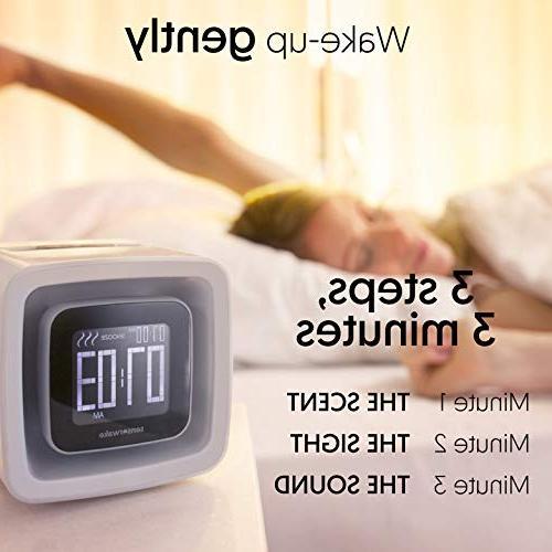 Sensorwake - Awakening Alarm Clock - Scent Sight Sound Mornings Guarantee 1 Capsule Included