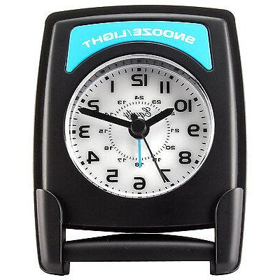 20085 Equity by La Crosse Fold-Up Quartz Travel Alarm Clock