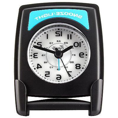20085 Equity by La Crosse Fold-Up Quartz Travel Alarm Clock