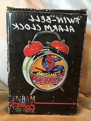 2010 comics spider man twin bell alarm