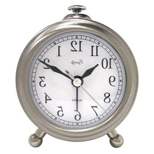 25655 metal quartz alarm clock