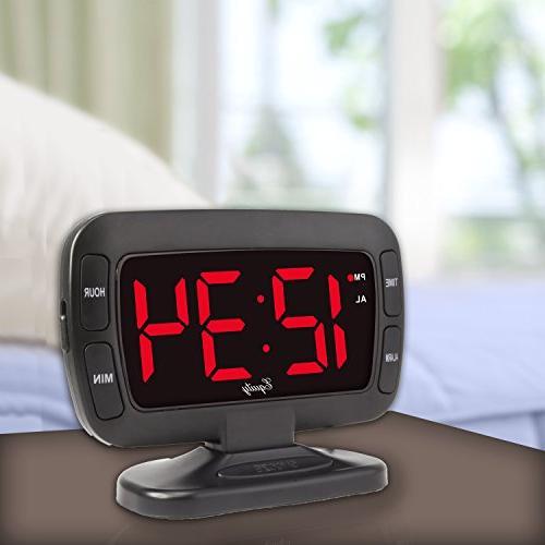 30017 Tilt Clock Alarm,
