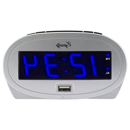 """30025 Equity by La Crosse AC Powered 0.9"""" Blue LED Display A"""