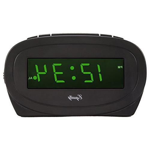 30226 green electric alarm clock