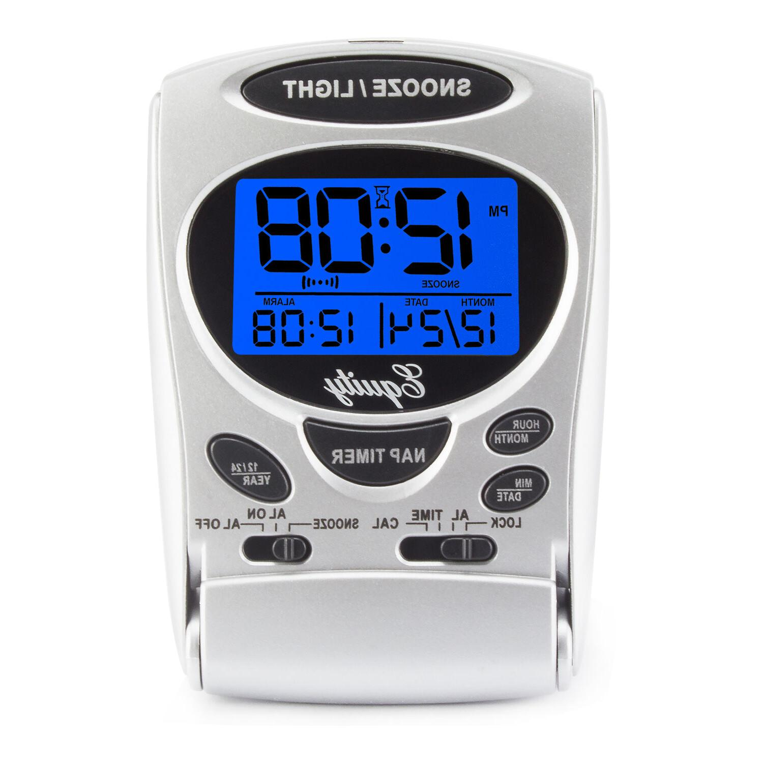 31300 La Crosse LCD Travel with Date &