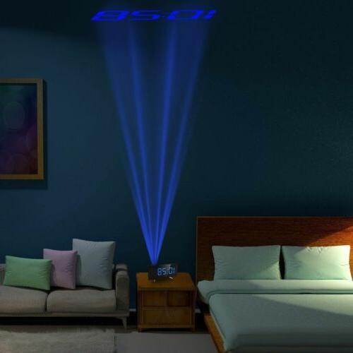 "5"" Projector Projection Radio Snooze Alarm Alarm"
