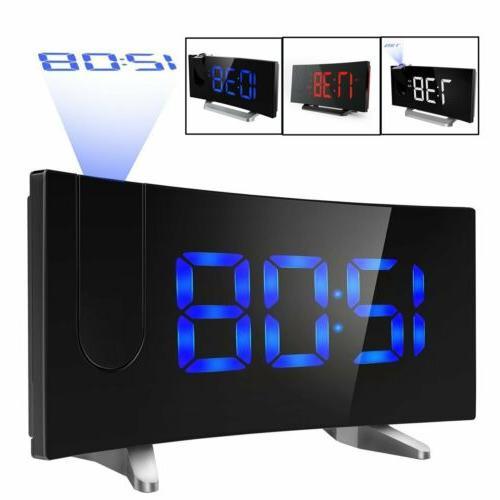 """5"""" Projector Radio Snooze Dual Alarm"""