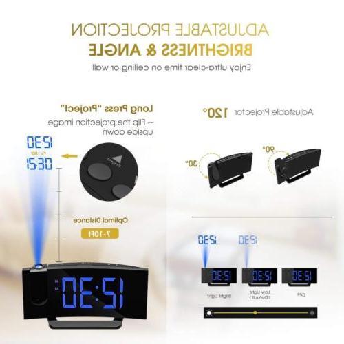 "Mpow 5"" Clock FM Radio Alarm W/ Dual Alarm"