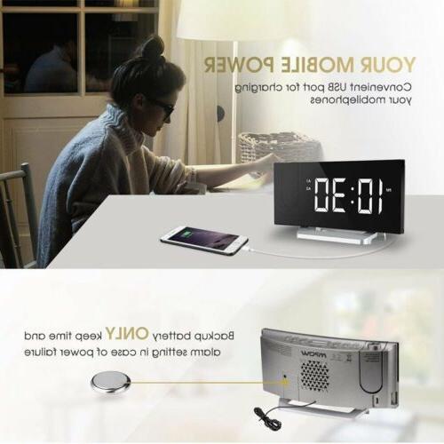 Clock Alarm W/ Alarm