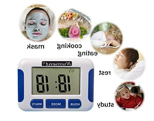 Nument 5 times Alarm style Timer Clock for Work baby