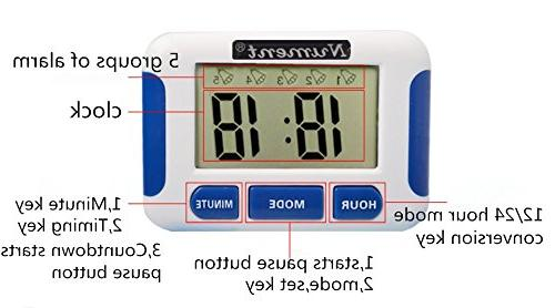 Nument times Alarm style for study Work medicine nursing baby