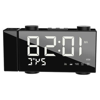 6 Inch Digital Clock Adjust Volume USB G0F2