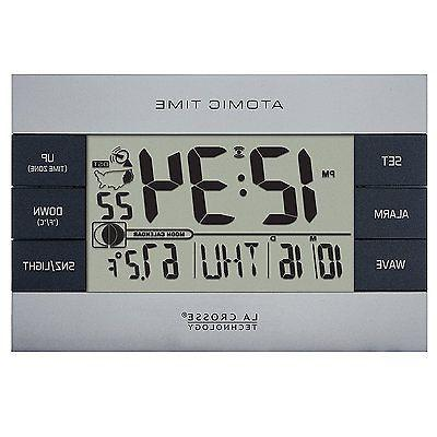 La Crosse Atomic Clock, Silver