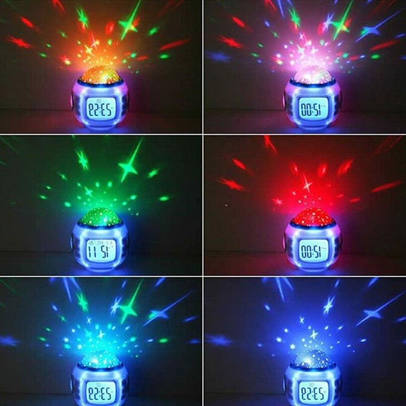 7 LED Digital Glowing Thermometer Color Changable
