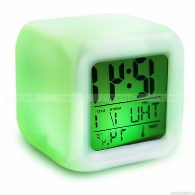 7 Changing Glow Clock