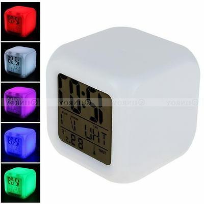 7 Glow Alarm Bedroom Digital Termometer