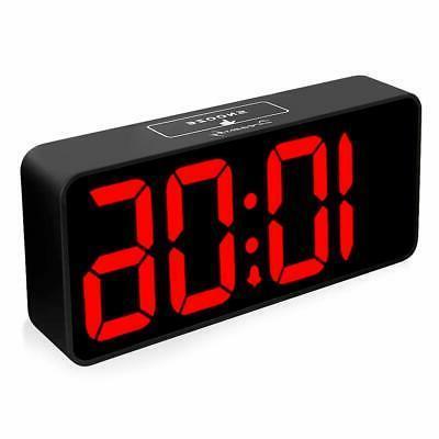 8 9 inches large digital alarm clock