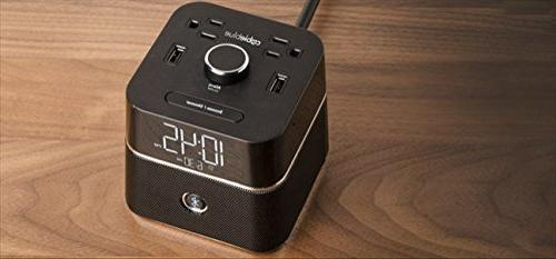 Brandstand Alarm Clock with Speaker