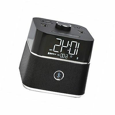 Brandstand BPEBL CubieBlue Charging Alarm Clock with Bluetoo