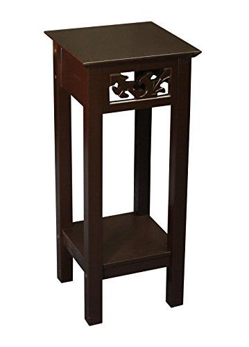 Ehemco Plant Stand in Brown