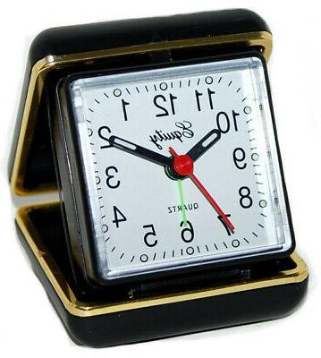 Equity by La Crosse 20080 Folding Travel Quartz Alarm Clock