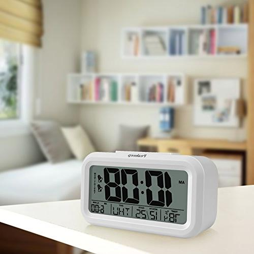 Peakeep Alarm Clock with 2 for Optional Smart Operated Only