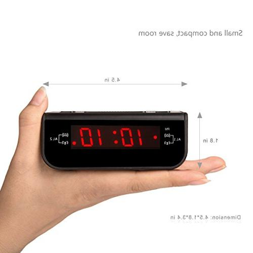 Peakeep Alarm Radio Dual Alarm, Timer Battery
