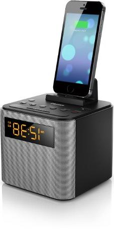 Philips AJT3300/37 Bluetooth Dual Alarm Clock Radio iPhone/A