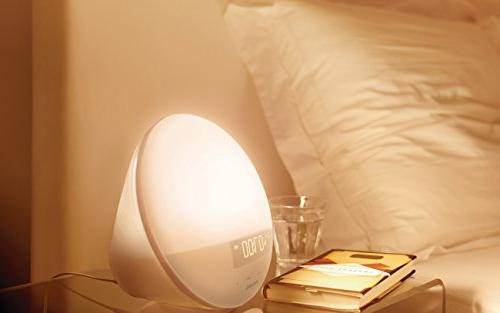 Philips Wake-Up Alarm Clock with Sunrise Simulation and Fading