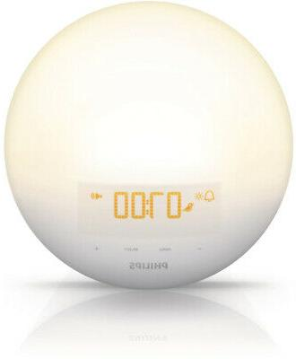 Philips Wake-Up Light Alarm Clock with Sunrise Simulation an