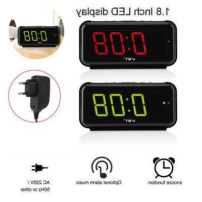 ac220v electronic table digital alarm clock desktop