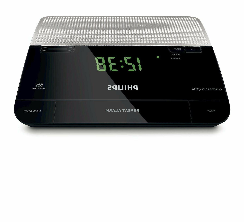 aj3226 fm digital tuning alarm clock radio