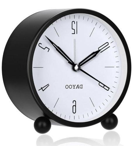 alarm clock 4 inch round alarm clock
