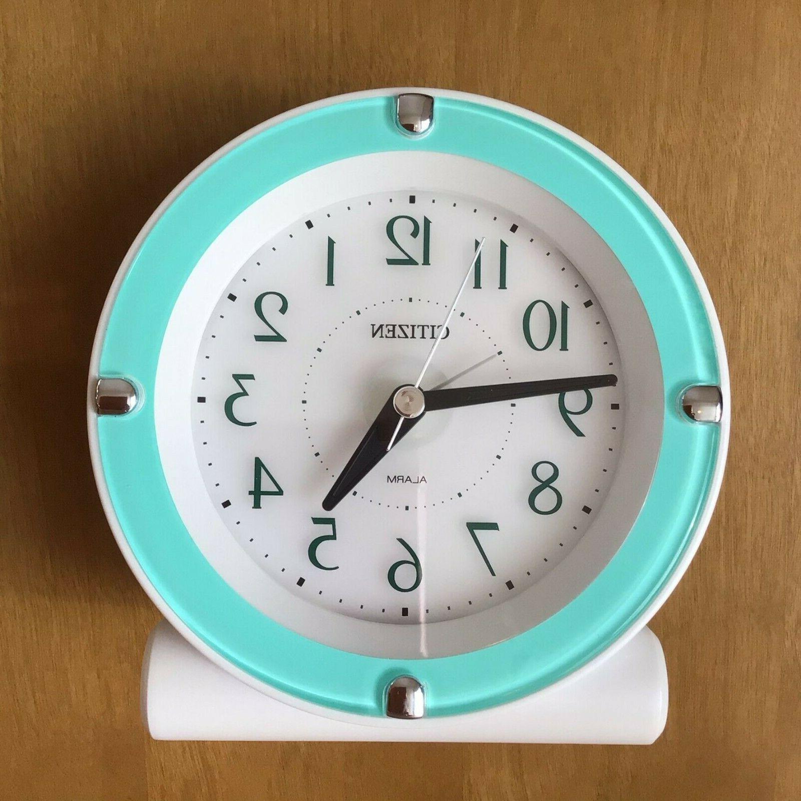 alarm clock 8rea18 mint green japan import