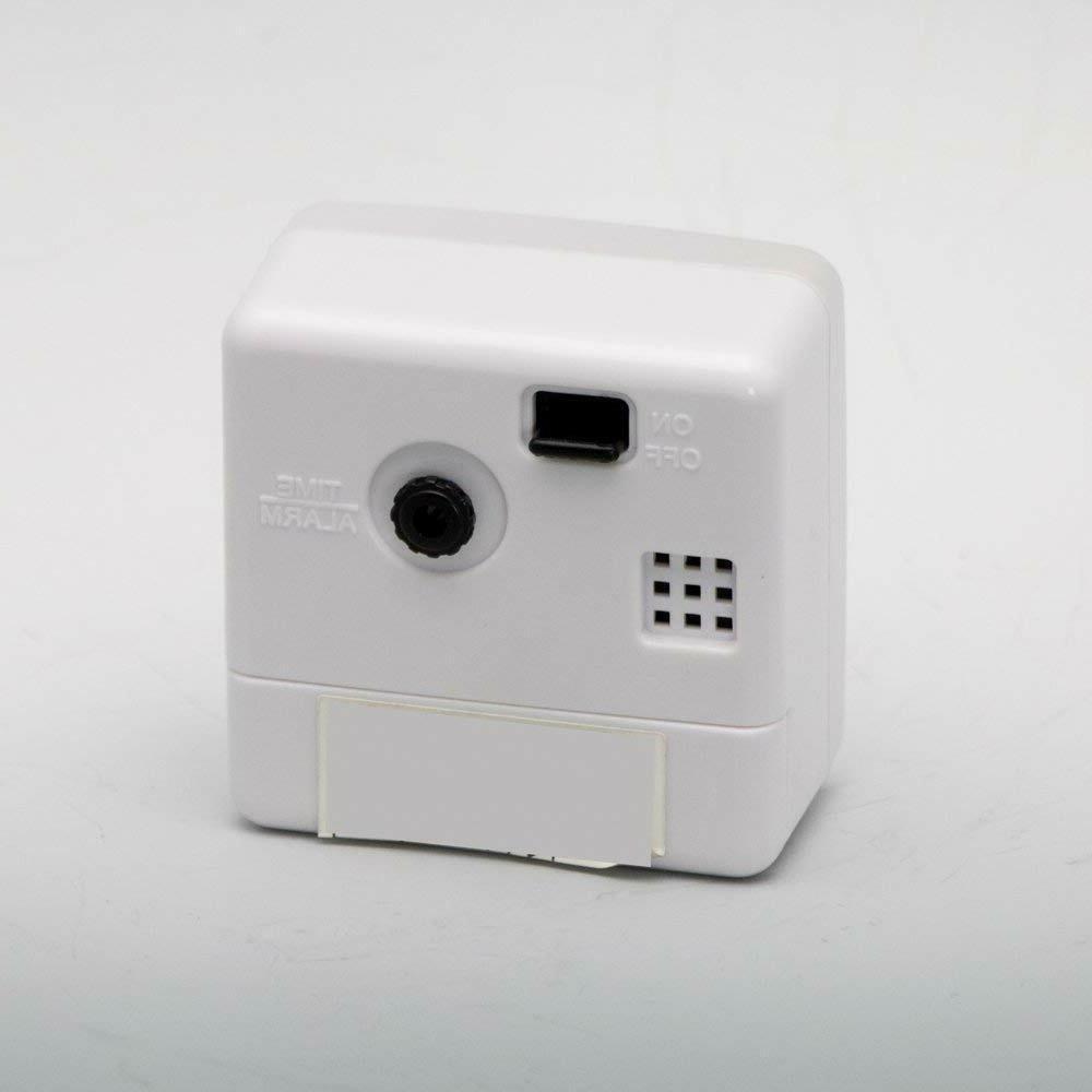 SEIKO Alarm Clock Analog PYXIS Pixcis NR437W White/Black From