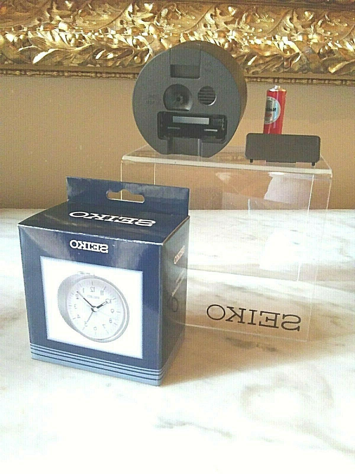 Seiko Alarm Clock Beep Hands in Box
