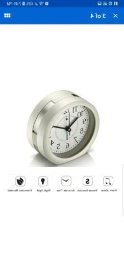 Alarm Clock, HQOON Cool Snooze Loud Wake Up Alarm Clocks for