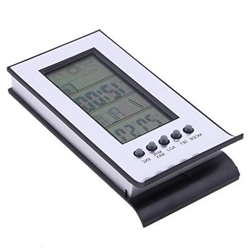 FunnyToday365 Digital Alarm Calendar Clock