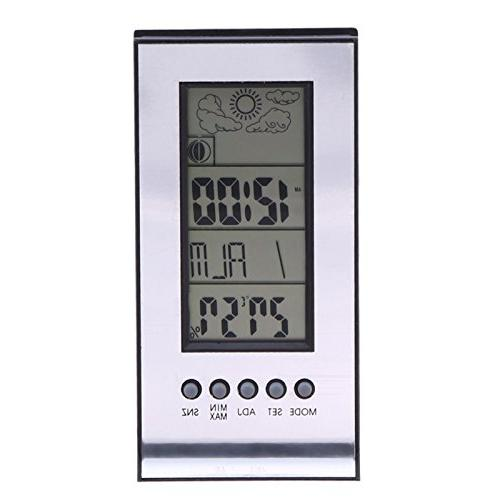 alarm clock indoor thermometer wireless