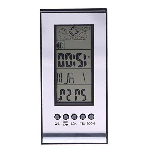alarm clock indoor thermometer wireless