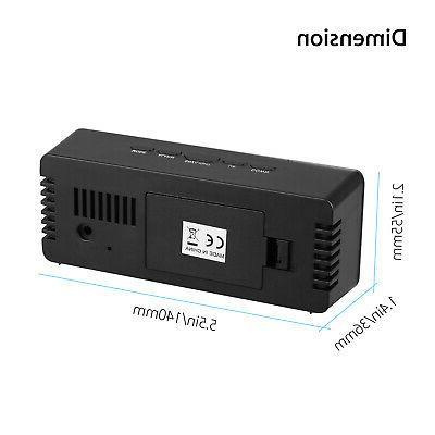 Alarm Large LED Battery