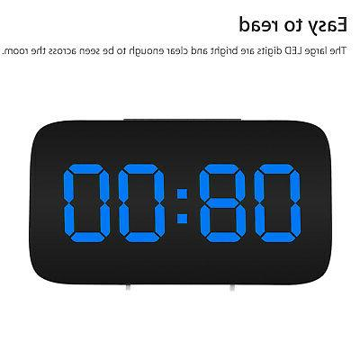 Alarm Clock LED Display USB/Battery Sound