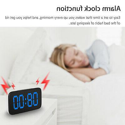 Digital LED Large Screen Powered Voice Clocks