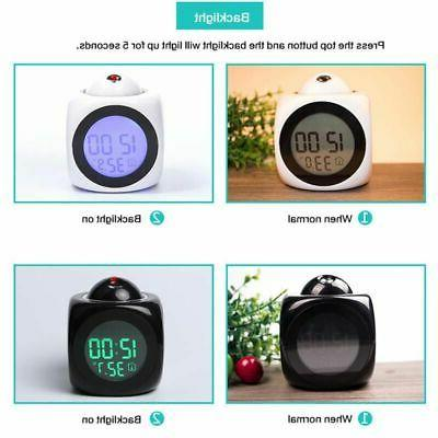 Alarm Projection Digital Voice Talking